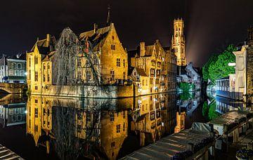 Brugge by night sur Erwin van den Berg