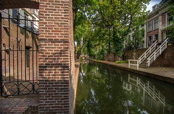 De nouvelles douves sous le soleil d'été sur Robin Pics (verliefd op Utrecht)