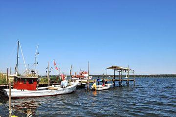 Fischerhafen in Klein Zicker, Halbinsel Mönchgut von GH Foto & Artdesign