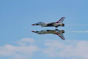 F16 Thunderbirds synchroon
