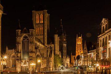 Zomeravond in Gent_04 van Alfred Meester