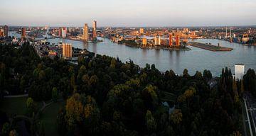 Rotterdam,panorama. van Tilly Meijer