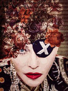 Madonna Jahrgangs-Blume von Helga fotosvanhelga