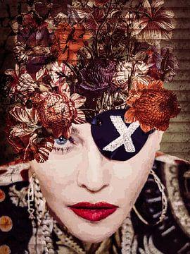 Madonna Vintage-Flower van Helga fotosvanhelga