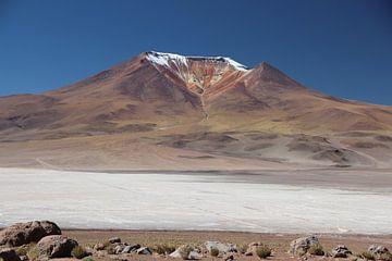Salar de Ascotán, Vulkan, Chile von A. Hendriks
