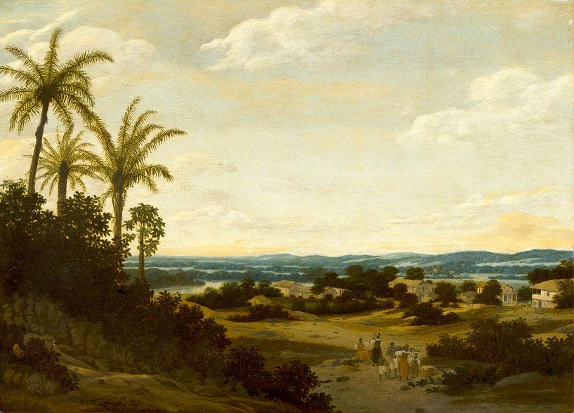 Brazilian Landscape, Frans Post von Meesterlijcke Meesters