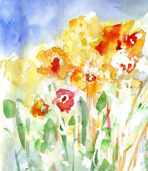 luftiger Frühling