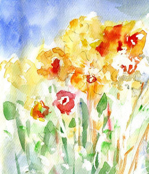 luchtige lente van Claudia Gründler