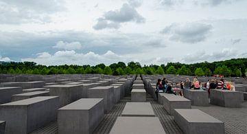 Holocaust Monument in Berlijn van Sven Wildschut