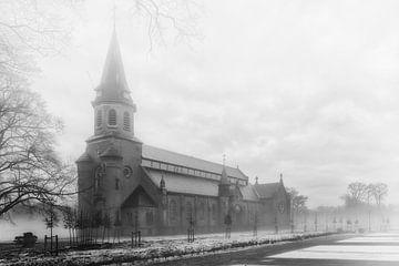 Neblige Kirche von Billy Cage