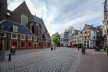 Oudekerksplein Amterdam van Peter Bartelings