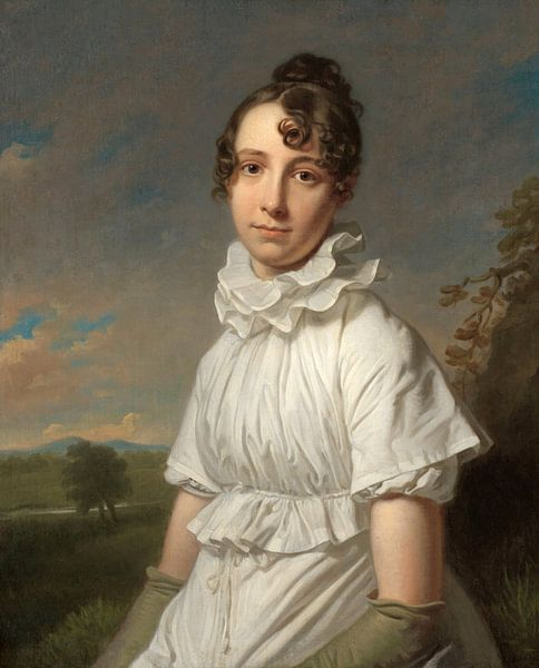 Porträt von Emma Jane Hodges, Charles Howard Hodges - ca. 1810 von Het Archief
