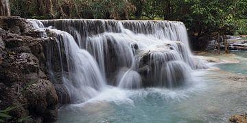 Waterval in Laos van Ryan FKJ