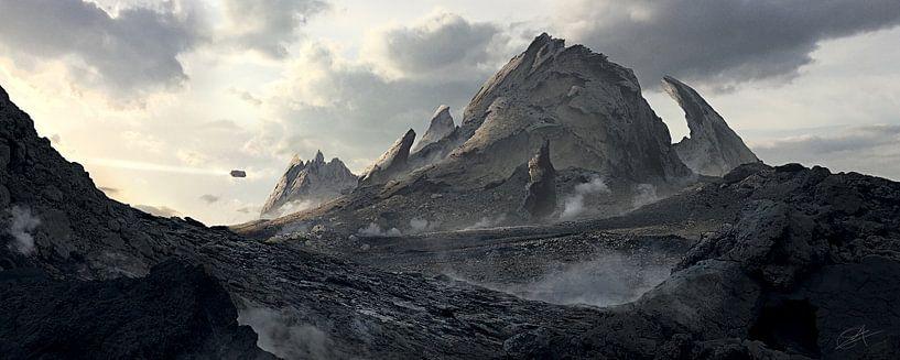Abbruch Berg von Rocky Schouten