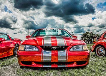 Ford Mustang van Ans Bastiaanssen