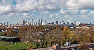 De Kuip and Rotterdam in Harmony van Midi010 Fotografie