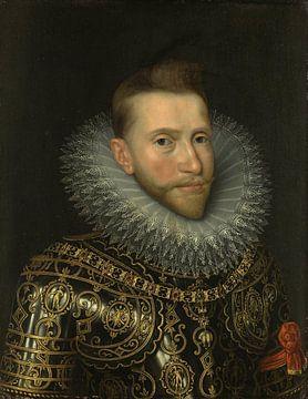 Portret van Albrecht van Oostenrijk, Frans II Pourbus van