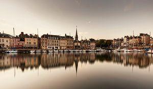 Haven Honfleur Frankrijk spiegeling
