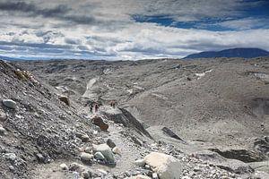 Gletsjer hiking op de Root Glacier