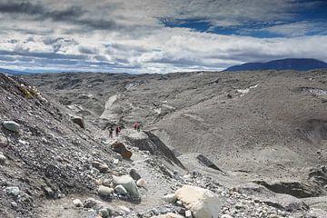 Gletsjer hiking op de Root Glacier van