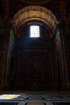 Italien, Rom, Vatikanstadt, St. Petersdom (Kirche, innen) von Stanley Kroon