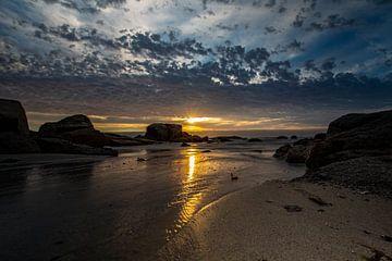 Zuid-Afrika, Bloubergstrand Beach von Willem Vernes