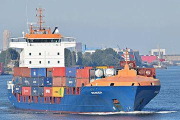 Containerschip Ranger van Piet Kooistra