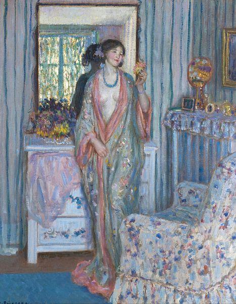 The Robe, Frederick Carl Frieseke von Meesterlijcke Meesters