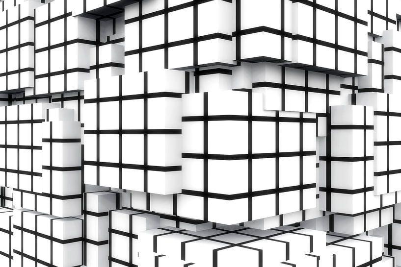 Q-Cubes 3D - la quadrature du mur sur Max Steinwald