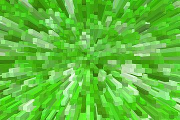 blokken groen van Marion Tenbergen