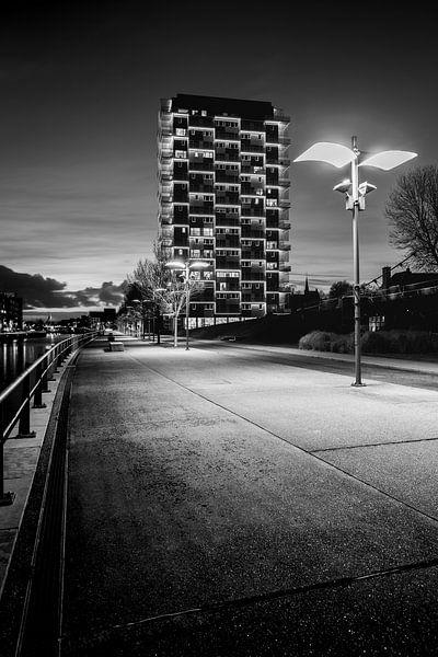 de K-Tower in Kortrijk, Belgie van Fotografie Krist / Top Foto Vlaanderen