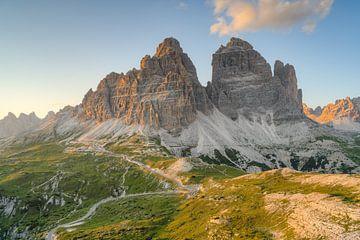 Côté sud de Three Peaks