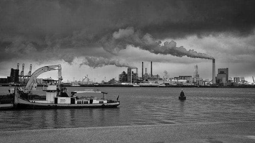 Maasvlakte, Rotterdam van Daan Overkleeft