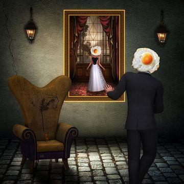 Der Besuch von René Magritte von Rudy & Gisela Schlechter