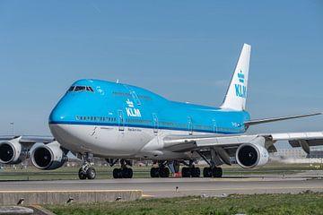 Boeing 747-400 van de KLM (City of Lima, PH-BFL). van Jaap van den Berg