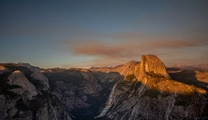 Yosemite valley, Glacier point sunset