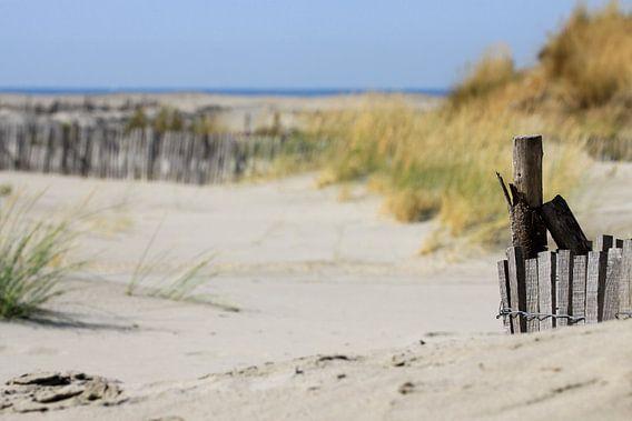 Strand in de Camarque van Antwan Janssen