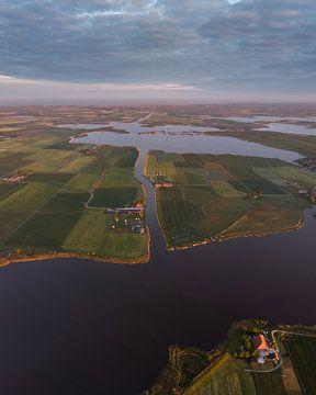 Het Friese landschap 2 ! van Ewold Kooistra