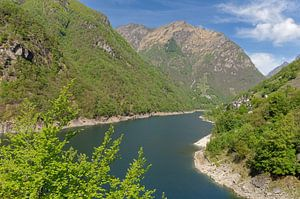 Lago di Vogorno im Verzascatal,Kanton Tessin von Peter Eckert