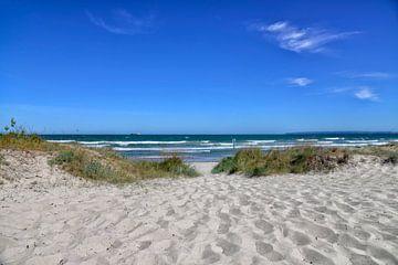 Insel Rügen Breege Sandstrand von Joachim G. Pinkawa