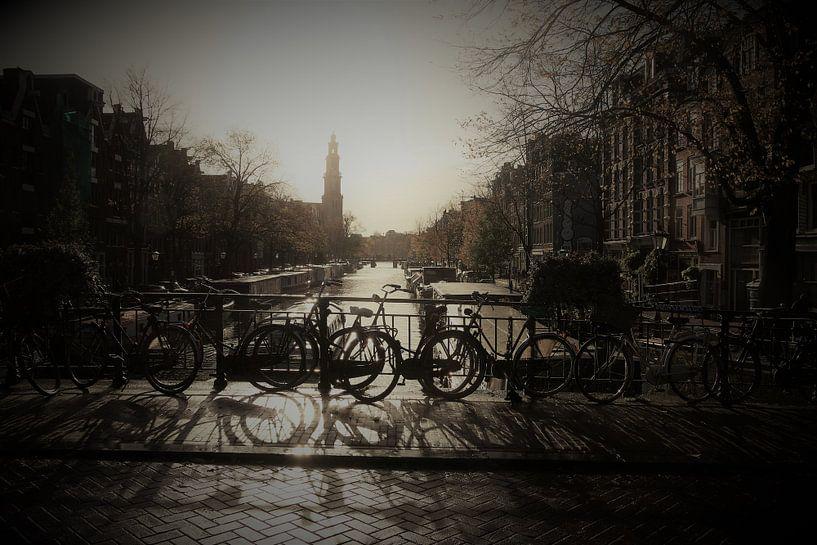 Amsterdams bruggetje van Rob De Jong