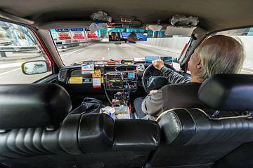 Hongkong taxi van Inge van den Brande