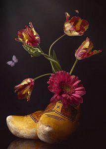 """Bloemenschilderij """"Royal Holland"""" van Sander Van Laar"""