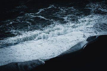 Golven op het Zwarte Strand van Pascal Deckarm