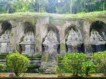 De Kunung Kawi tempel van Petra Brouwer