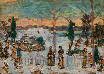 Maurice Prendergast - Schnee im April