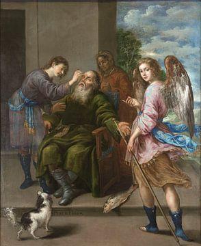 Tobias stellt das Augenlicht seines Vaters wieder her, Antonio de Pereda