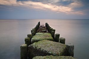 Groynes on the Baltic Sea coast