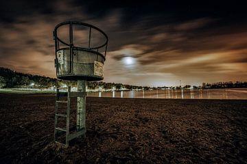 Der aasee am Abend von n.Thi Photographie
