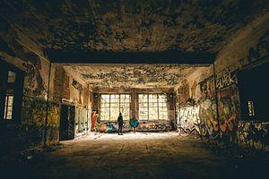 Stadterkundung verlassener Gebäude Belgien
